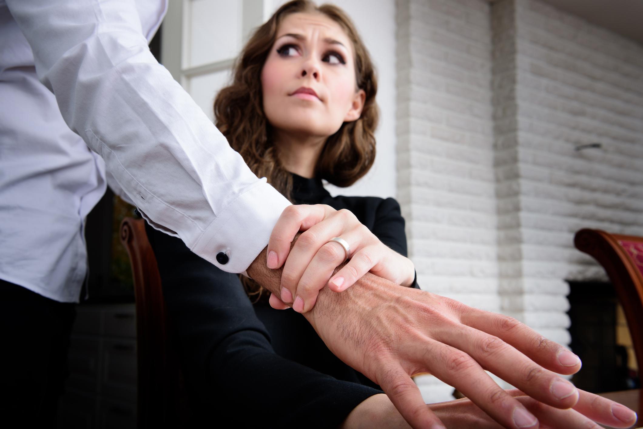 Sexuella trakasserier på jobbet